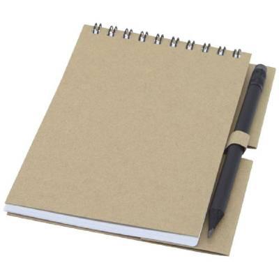 Luciano Eco Notizbuch mit Spiralbindung mit Stift ? klein