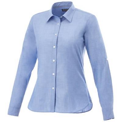 Slazenger Lucky Damen Langarm Bluse in Jeansoptik
