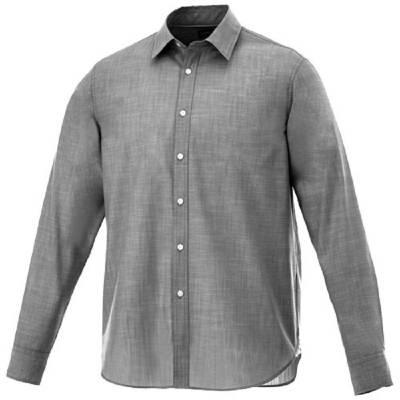 Lucky Hemd in Jeansoptik-schwarz-S