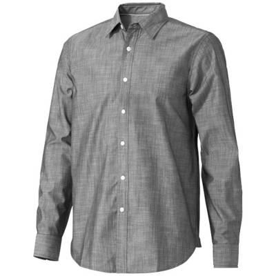 Slazenger Lucky Herren Langarm Hemd in Jeansoptik