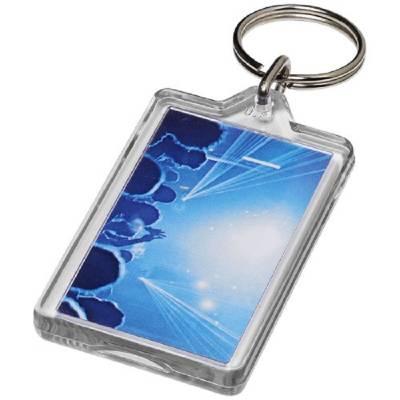 Luken wieder öffenbarer Kunststoff-Schlüsselanhänger-transparent
