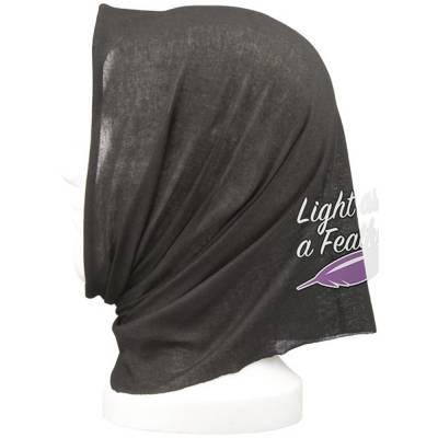Lunge Bandana Kopftuch-schwarz