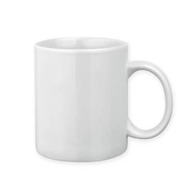 mug porzellantasse weiss als werbemittel mit logo bedrucken er04236 90. Black Bedroom Furniture Sets. Home Design Ideas