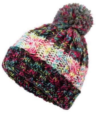 Mehrfarbige Mütze Bossy-schwarz-one size-unisex