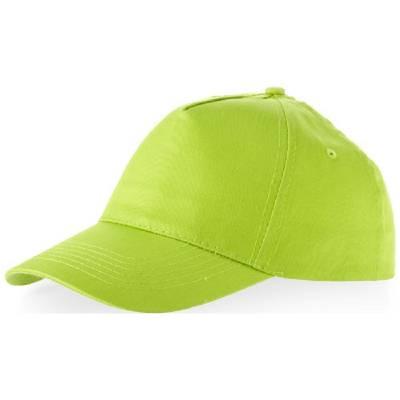 Memphis Kappe mit 5 Segmenten-grün-one size