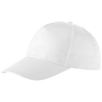 Memphis Kappe mit 5 Segmenten-weiß-one size