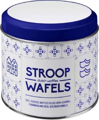 Metalldose für Stroopwafel Amsterdam