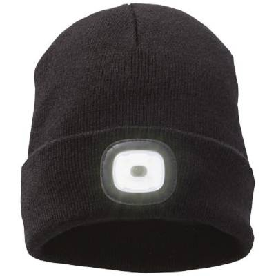 Elevate Mighty LED knit beanie, Black