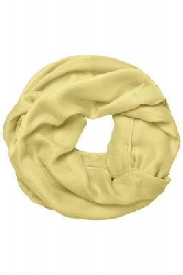 Modischer Loop Schal Barron-gelb-one size-unisex