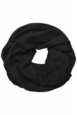 Modischer Loop Schal Barron-schwarz-one size-unisex