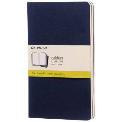 Moleskine Cahier Journal L?blanko-blau