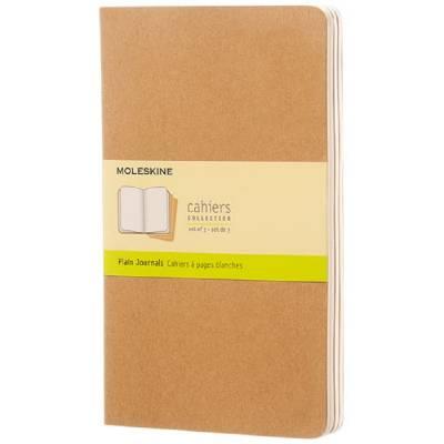 Moleskine Cahier Journal L?blanko-braun(hellbraun)