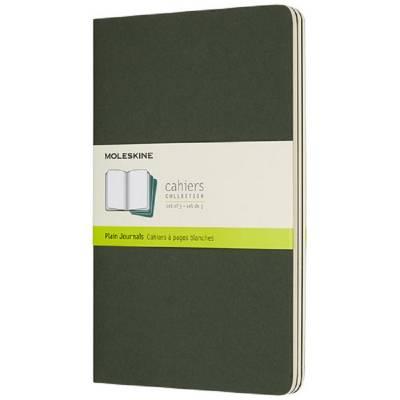 Moleskine Cahier Journal L?blanko-grün