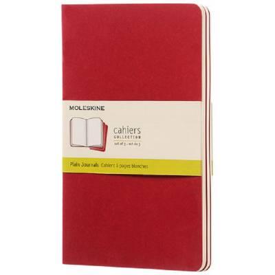Moleskine Cahier Journal L?blanko-rot