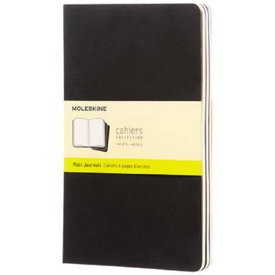 Moleskine Cahier Journal L?blanko-schwarz