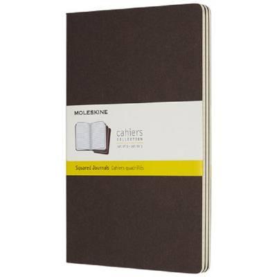 Moleskine Cahier Journal L?kariert-braun
