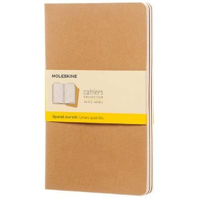 Moleskine Cahier Journal L?kariert-braun(hellbraun)