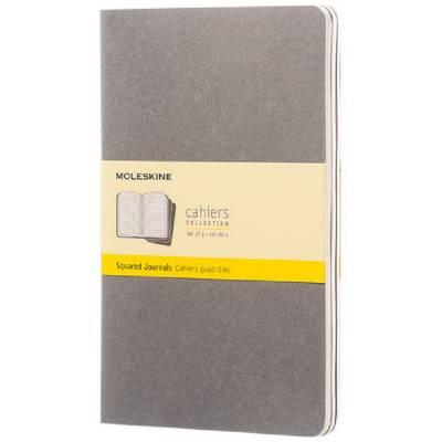 Moleskine Cahier Journal L?kariert-grau