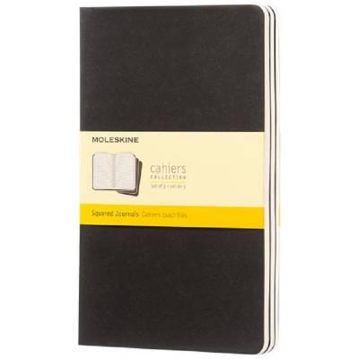 Moleskine Cahier Journal L?kariert-schwarz