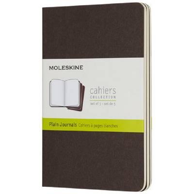 Moleskine Cahier Journal Taschenformat?blanko-braun