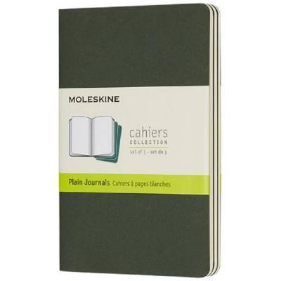 Moleskine Cahier Journal Taschenformat?blanko-grün