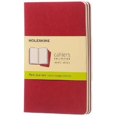 Moleskine Cahier Journal Taschenformat?blanko-rot