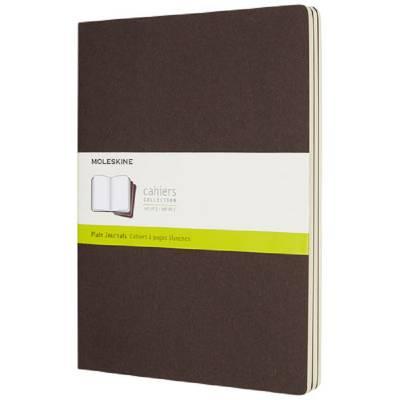 Moleskine Cahier Journal XL?blanko-braun