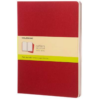 Moleskine Cahier Journal XL?blanko-rot