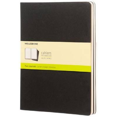 Moleskine Cahier Journal XL?blanko-schwarz