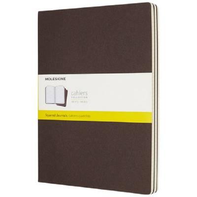 Moleskine Cahier Journal XL?kariert-braun