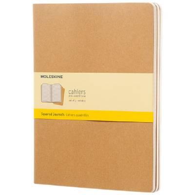 Moleskine Cahier Journal XL?kariert-braun(hellbraun)