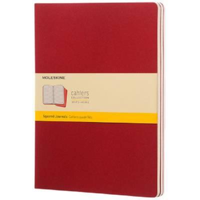 Moleskine Cahier Journal XL?kariert-rot
