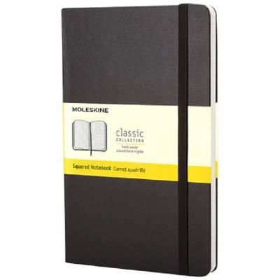 Moleskine Classic Hardcover Notizbuch Taschenformat-kariert-schwarz