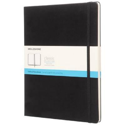 Moleskine Classic Hardcover Notizbuch XL-gepunktet-schwarz