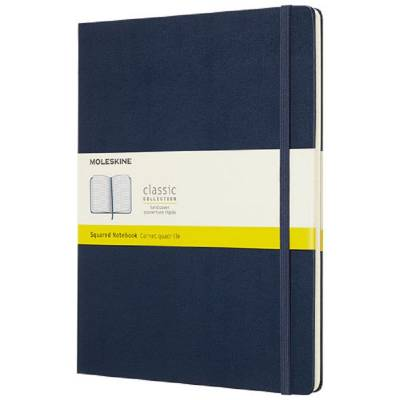 Moleskine Classic Hardcover Notizbuch XL-kariert-blau