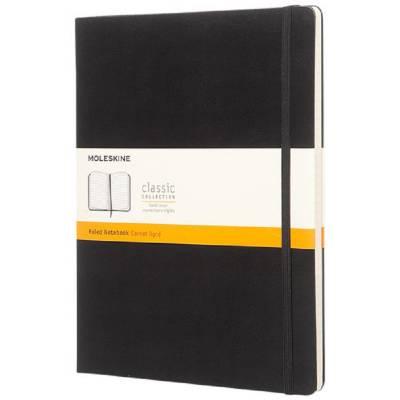 Moleskine Classic Hardcover Notizbuch XL-liniert-schwarz