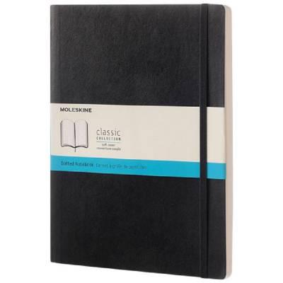 Moleskine Classic Softcover Notizbuch XL-gepunktet-schwarz