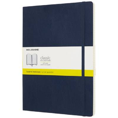 Moleskine Classic Softcover Notizbuch XL-kariert-blau