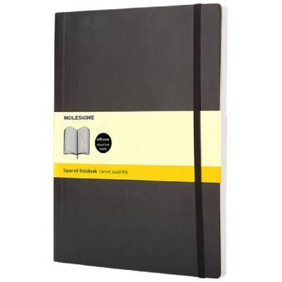 Moleskine Classic Softcover Notizbuch XL-kariert-schwarz