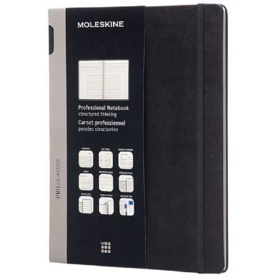 Moleskine Pro Hardcover Notizbuch XL-schwarz