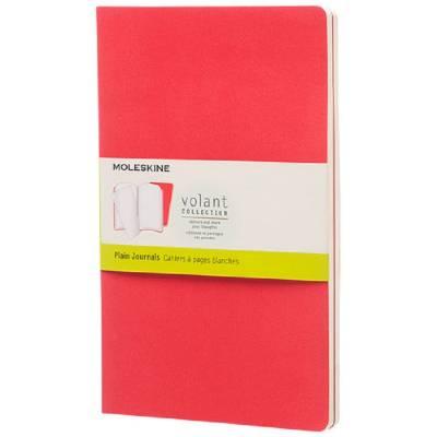 Moleskine Volant Journal L?blanko-rot