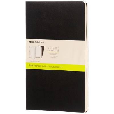 Moleskine Volant Journal L?blanko-schwarz