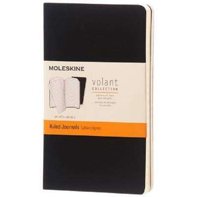 Moleskine Volant Journal Taschenformat?liniert-schwarz