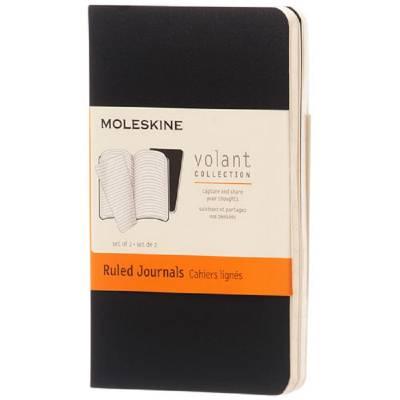 Moleskine Volant Journal XS?liniert-schwarz