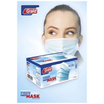 Moore Typ IIR Gesichtsmaske-blau(hellblau)