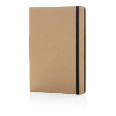 Nachhaltiges A5 Notizbuch-schwarz