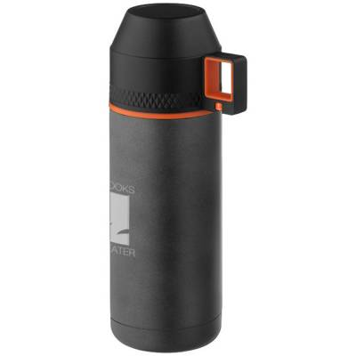 Nakiska Vakuum Isolierflasche-grau