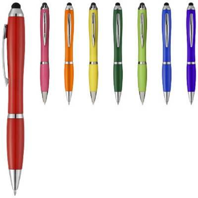 Nash Stylus Kugelschreiber mit farbigem Griff und Schaft
