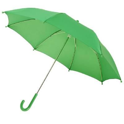 Nina 17 Zoll Sturmschirm für Kinder-grün(hellgrün)