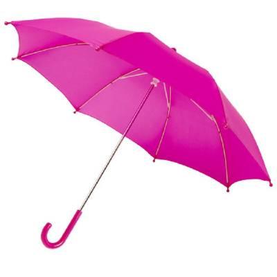 Nina 17 Zoll Sturmschirm für Kinder-pink(magenta)